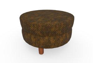 foot stool 3D