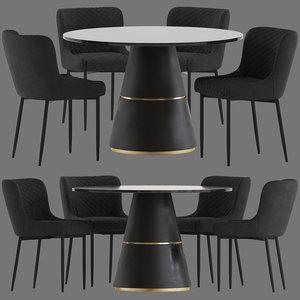 innova australia danya chair 3D model
