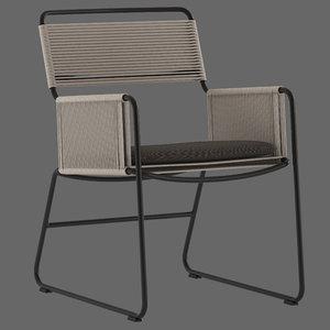 3D coco republic milan outdoor model