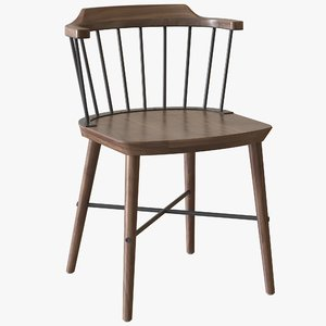 3D model exchange dining chair