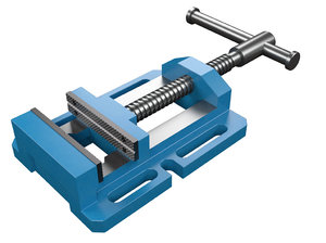 3D vise drill press