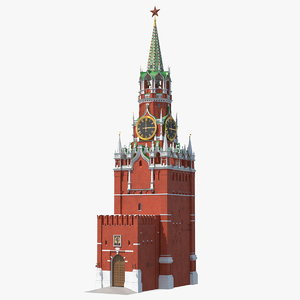 kremlin saviour tower 3D