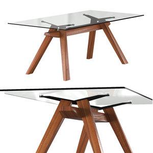 3D model zeus lg table