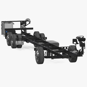 bus chassis generic 3D