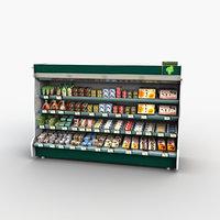Store Display Refrigerator Freezer Tofu Soybean