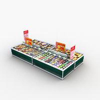 Store Display Refrigerator Frozen Food