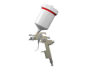 3D gun paint model