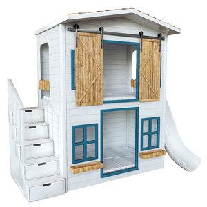 3D house playhouse