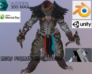 character unity engines 3D model