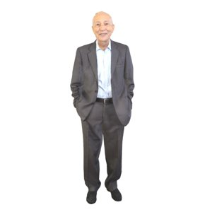 3D old guy standing