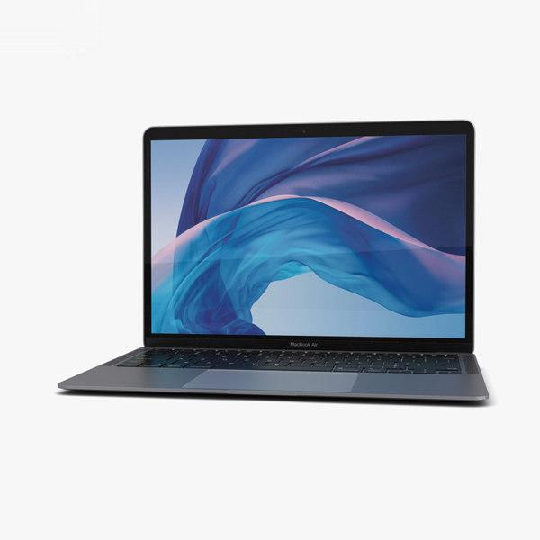 Apple MacBook Air (2020) Space Gray 3D-Modell - TurboSquid ...