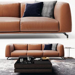 ditre st germain sofa 3D model