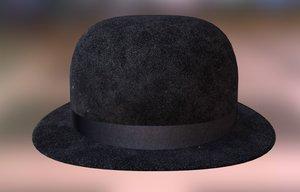 3D hat couture model