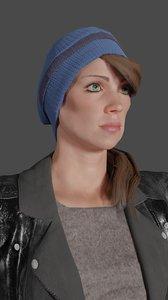 3D woman ready games anna