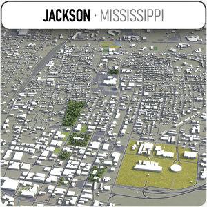jackson surrounding - 3D model