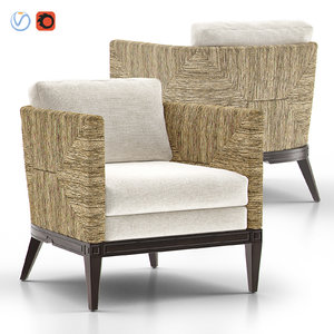 3D cameron lounge chair