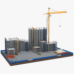 construction building 3D