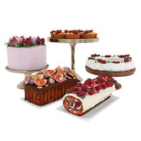 Fruit berry cake collection 3
