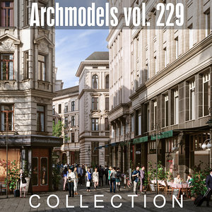 3D archmodels vol 229