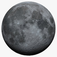 Moon 16K Photorealistic