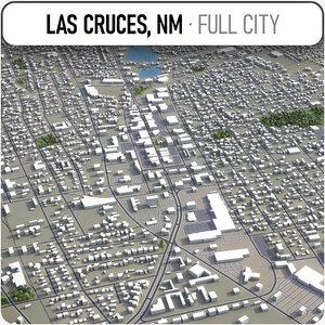 las cruces surrounding - 3D model