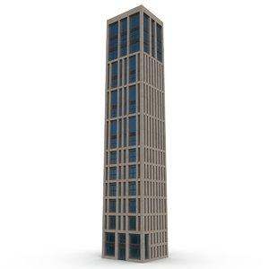 3D building pbr