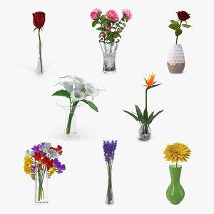 flowers vases 2 model