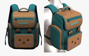 bag backpack 3D