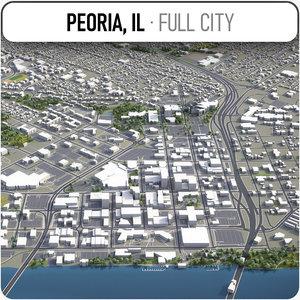 3D peoria surrounding -