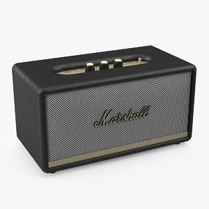 marshall stanmore ii wireless 3D model