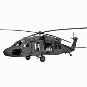 3D uh-60m blackhawk