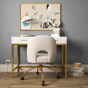 3D decor desk model