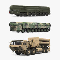 Road-mobile Ballistic Missiles Collection 2
