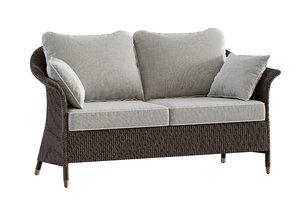 3D model victor lounge sofa
