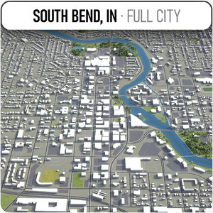 south bend surrounding - model