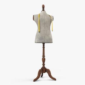 antique mannequin model