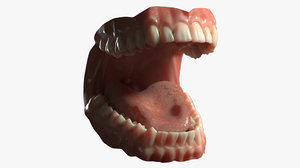 3D dentures medicine anatomy redshift