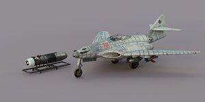 262 hg 3 messerschmitt 3D