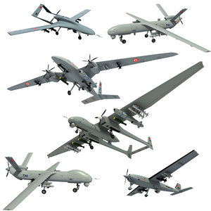 3D turkish uavs
