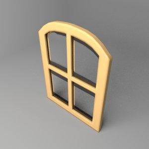 3D model window 2