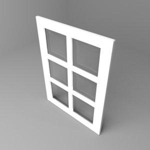 window 3 model