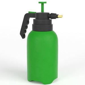 3D sprayer gardening model