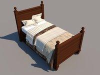 Revit single bed 1