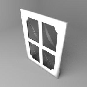 window 9 3D model
