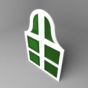 window 13 3D model