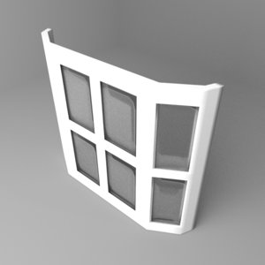 window 15 3D model
