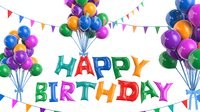 Animated Birthday Balloons