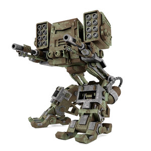 mech destroyer walker 3D