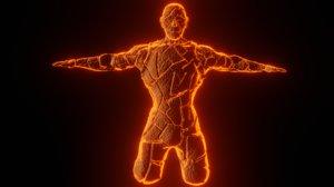 character lava 3D model