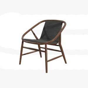 3D furniture chair seat model